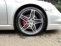 2008 Porsche 911 TURBO 2dr Tiptronic S Automatic Petrol Coupe