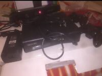 MICROSOFT XBOX 360 CONSOLE AND KINECT BUNDLE 4GB MATTE BLACK INCLUDING 15 Games