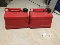 2x Petrol Container