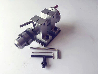 Drill Chuck Tailstock With Plate Tail Stock 35mm Center Height Diy Bead Drilling