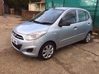 HYUNDAI i10 1.2 CLASSIC SILVER CAT C , ONE YEAR MOT LOW MILES 24000 IMMACULATE CONDITION