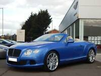 2013 Bentley Continental GTC 6.0 W12 Speed 2dr Automatic Petrol Convertible
