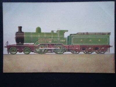 POSTCARD GREAT NORTHERN RLY PASSENGER ENGINE NO 1327
