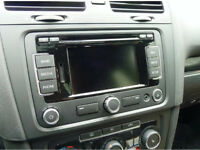 GENUINE VW RNS 315 EU UNIT WITH BLUETOOTH, NAVIGATION, SD-SLOT, MP3, AUX