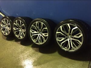 20 Inch Bmw M sport X'series wheels with tyres 70% tread Campbelltown Campbelltown Area Preview