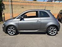 2014 Fiat 500 1.2 S Dualogic Automatic Petrol Hatchback
