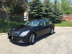 2011 Infiniti G25X - single-owner vehicle with winter tires