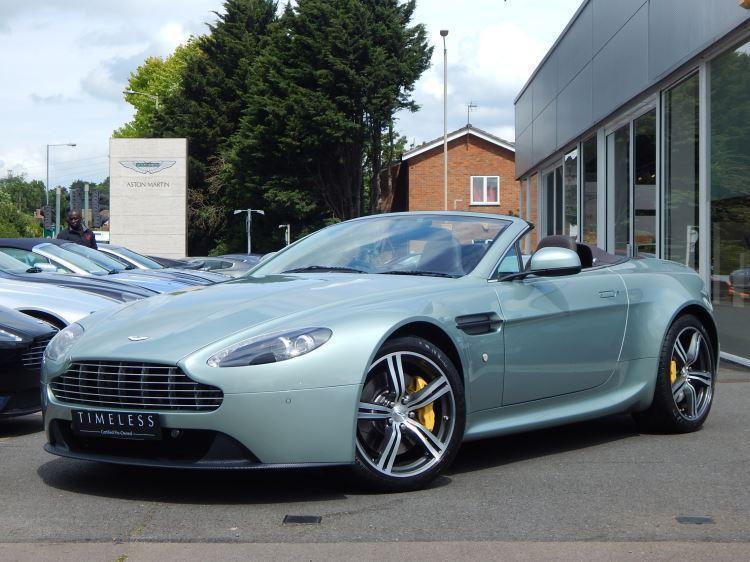 2010 Aston Martin V8 Vantage Roadster 2dr (420) Manual Petrol Roadster