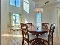 MEUBLE & EQUIPPE  CONDO LUXUEUX/FURNISHED LUXURY CONDO