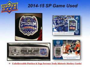 2014-15 Upper Deck SP Game Used Hockey Cards Hobby Box Kitchener / Waterloo Kitchener Area image 5
