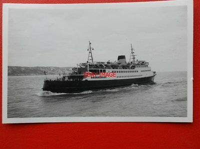 PHOTO  FERRY PRINCESS PAOLA FOLKESTONE 12/11/66