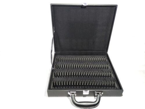 New Storage Display Box Case Faux Leather for 100 Silver Dollar Coins Holders