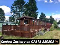 Walker Brothers Timber/ Wooden Lodge Static Caravan in Penrith Lake District