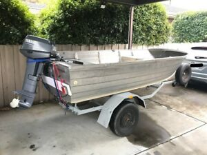 12.5ft Dinghy with 25hp Yamaha