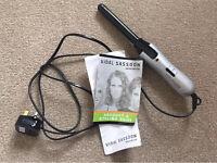 Vidal Sassoon curling tongs ceramic hair irons styling care beauty
