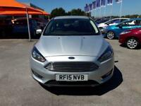 2015 Ford Focus 1.6 125 Titanium Powershift Automatic Petrol Hatchback