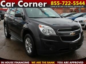 2013 Chevrolet Equinox LS AWD/FUEL EFFICIENT/BLUETOOTH $123 B/W!