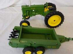 John Deere 40 Tractor & Ertl Wagon Lot 164