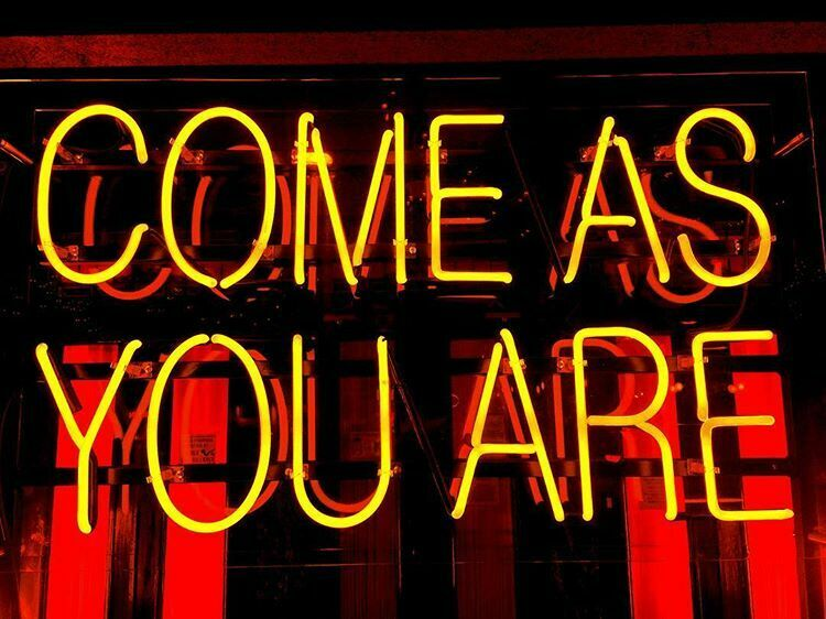 "Come As You Are 17""x14"" Neon Sign Lamp Light Beer Bar With Dimmer"