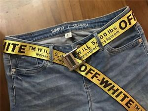 Off White 200cm Industrial Belt