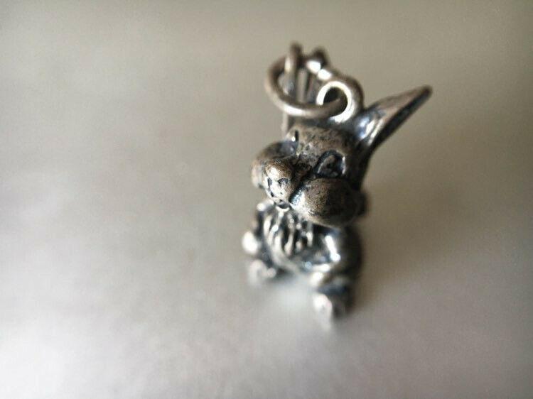 Disney Vintage Sterling Silver Thumper Rabbit Charm