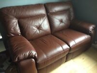 Electric Leather Recliner Sofa