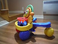 Fisher-Price Stride to Ride Walker