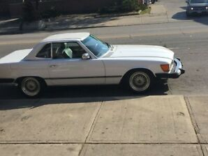 CLASSIC 1980 450SL for the Summer!