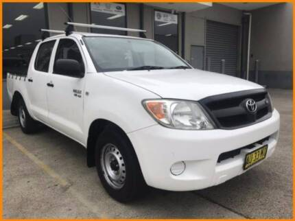 From $117 per week on finance* 2008 Toyota Hilux Ute