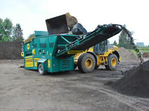 New Revolver RT508 portable trommel screening plant - screener