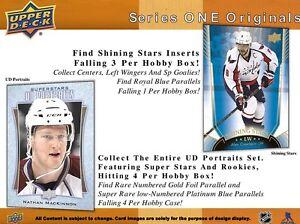 2016-17 Upper Deck Series 1 Hockey Hobby Trading Cards Box Kitchener / Waterloo Kitchener Area image 6