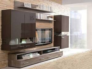 A4 Tv unit/storage set, four pce. Malaga Swan Area Preview