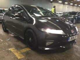 2008 Honda Civic 2.0 i-VTEC Type R GT 3dr Petrol black Manual