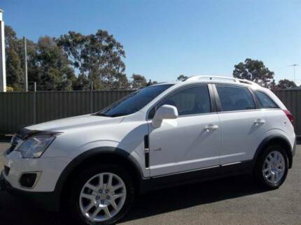 FROM ONLY $69 P/WEEK* 2013 HOLDEN CAPTIVA 4D WAGON 5 (4X4) Blacktown Blacktown Area Preview