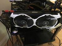 MSI NVIDIA GeForce GTX970 4GIG DDR5 OC EDITION ARMOR 2X BLACK/WHITE
