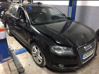Audi A3 2010 Sportback 1.6 tdi spares or repairs salvage damaged bargain