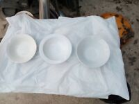 Various sized plates