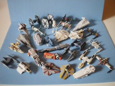Star Wars micro machines - FORCE AWAKENS LAST JEDI