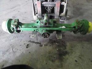 John deere mfwd complete axle