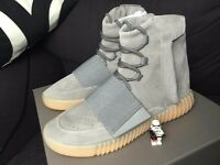 New Adidas yeezy 750 boost grey gum glow in the dark TOP QUALITY