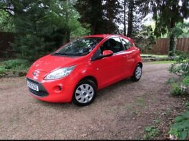 Ford KA Style + Coral Colour