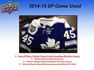 2014-15 Upper Deck SP Game Used Hockey Cards Hobby Box Kitchener / Waterloo Kitchener Area image 4