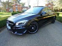 2014 Mercedes-Benz C-Class CLA 220 CDI AMG Sport Tip Automatic Diesel Saloon