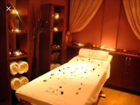 Professional body massage in a calm, relaxed environment