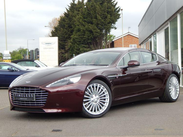 2017 Aston Martin Rapide S V12 (552) 4dr Touchtronic III Automatic