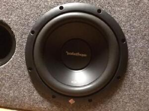 Rockford Fosgate 12 inch sub in box with port