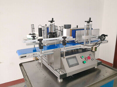 Tabletop Labeling Machine For Round Bottle Automatic Labeler Includes Date Coder