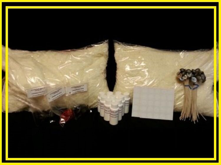 Soy Wax Candle Making Kit w/20 lbs. Wax, 20 Scents, Wicks & Dye  *Free Shipping*