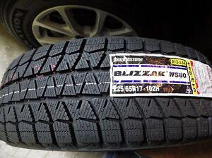 Pneus Bridgestone Blizzak WS80 neufs 195/65R15