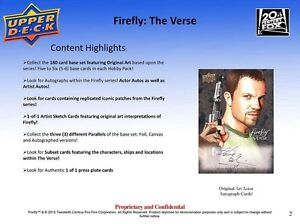 2015 Upper Deck FireFly: The Verse Trading Cards Box Kitchener / Waterloo Kitchener Area image 5